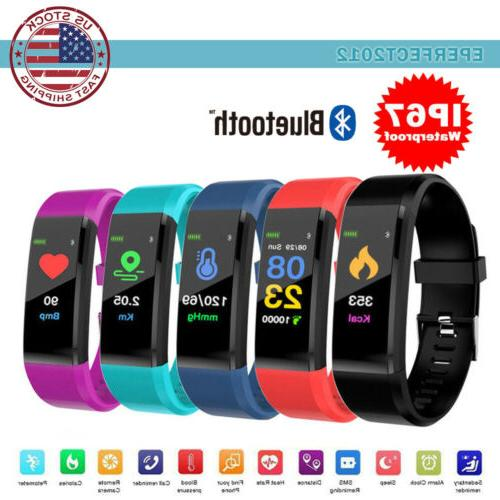 fitness activity tracker heart rate monitor sport