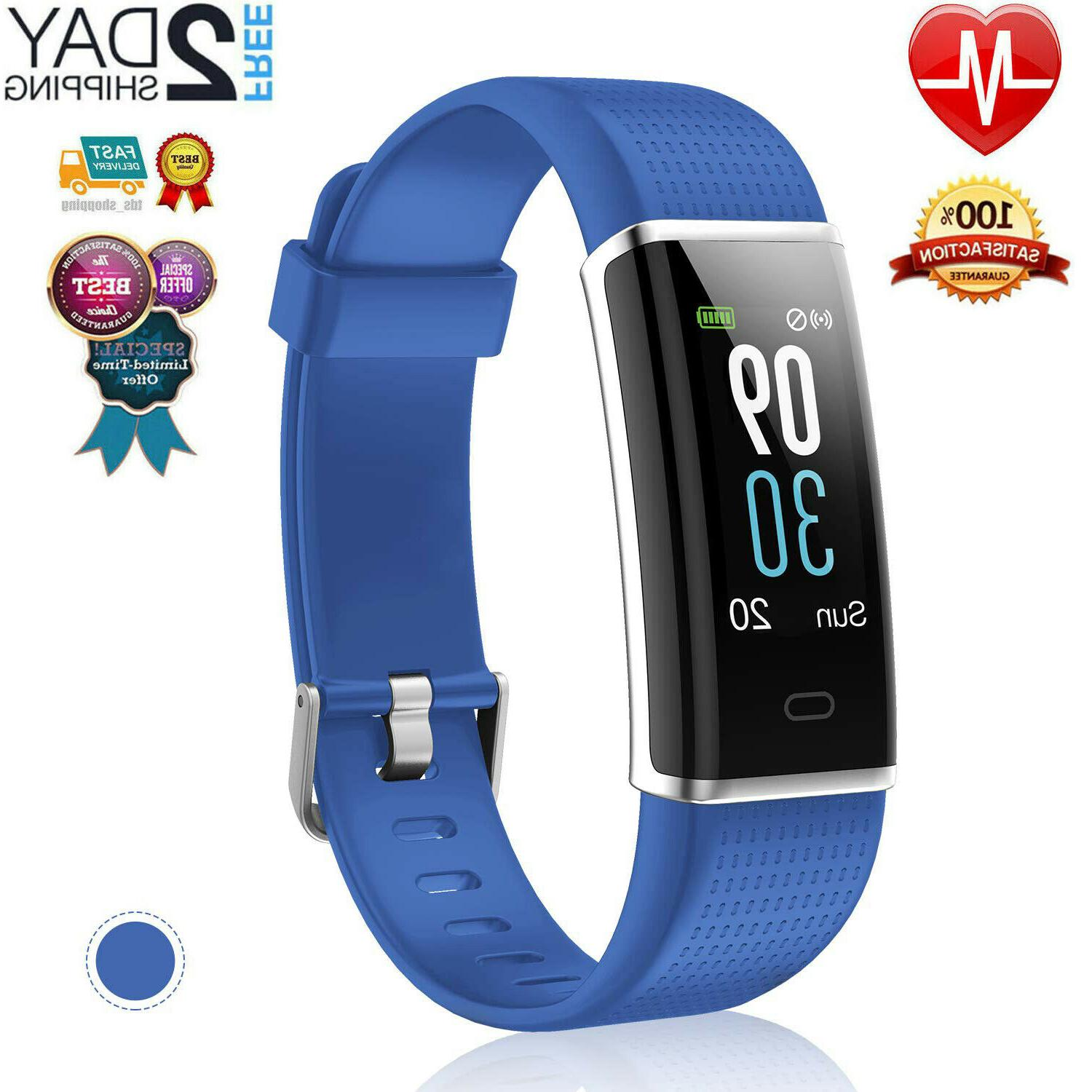 Fitness Activity Tracker Watch Fitbit Heart Rate Monitor Ped