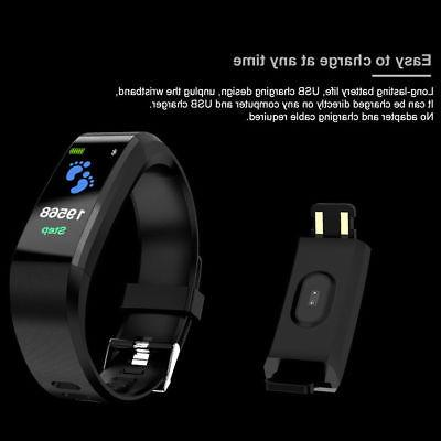 Fitness Watch Tracker Women Men Android iOS