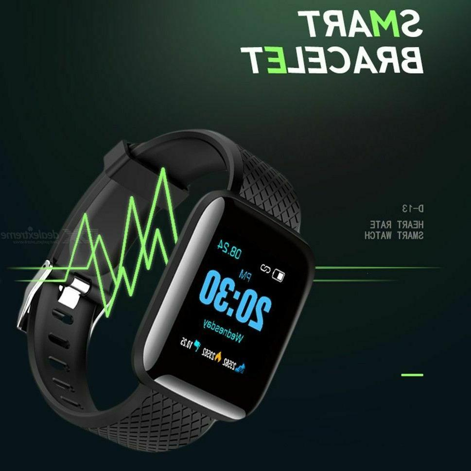 Fitness Activity Tracker Watch Oxygen Blood