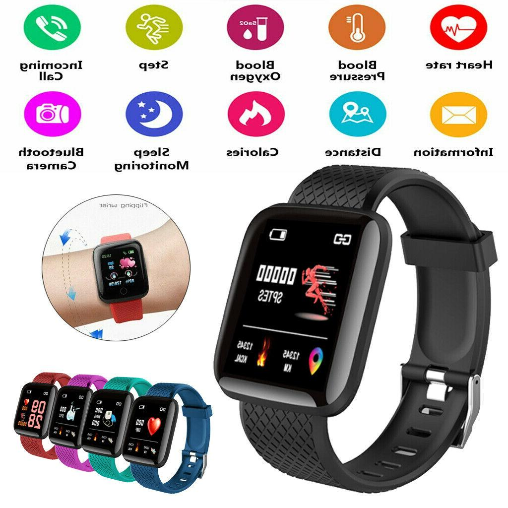 fitness tracker activity smart watch band heart