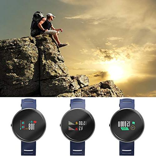 YoYoFit Fitness Watch Rate Monitor, Waterproof Watch Activity Sleep for Kids