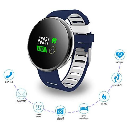 YoYoFit Fitness Watch Heart Rate Monitor, Waterproof Watch Activity Sleep for