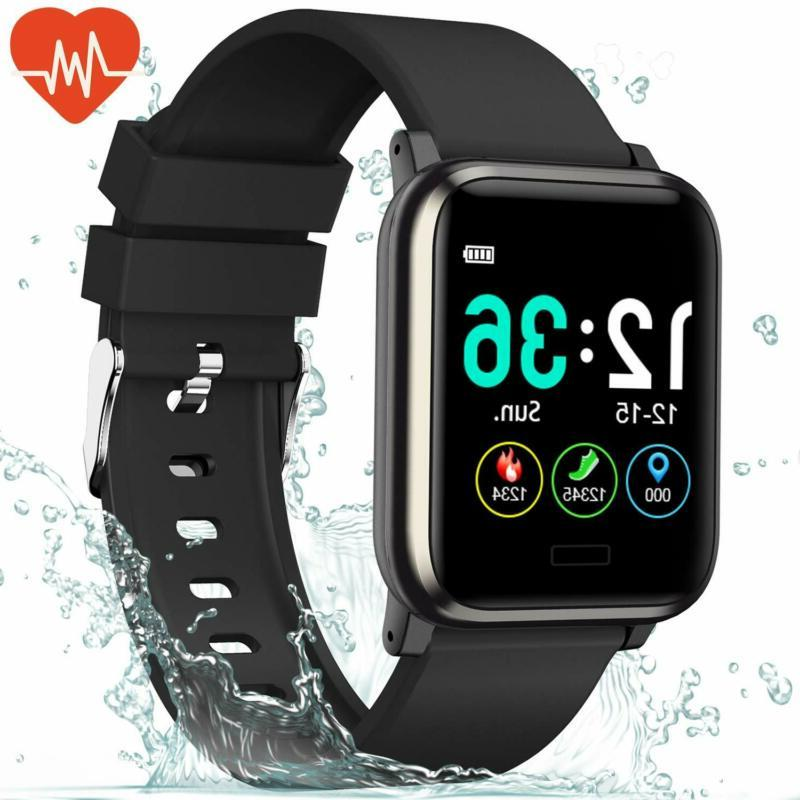 L8Star Fitness Tracker Heart Rate Monitor-1.3'' Large Color