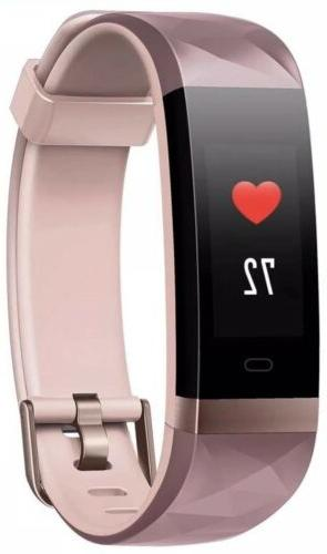 Fitness Tracker Heart Monitor Activity Tracker with Connector