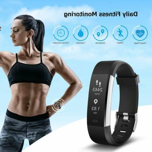 Letsfit Activity Tracker Rate Monitor Modes
