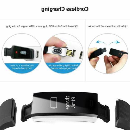 Letsfit Tracker Activity Tracker Watch Heart Rate Monitor 14 Modes