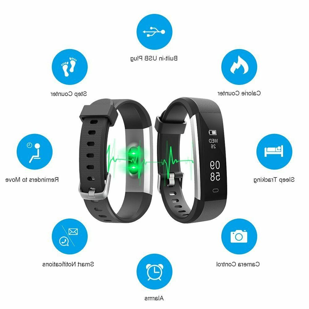 Heart Rate Step Tracker Sports