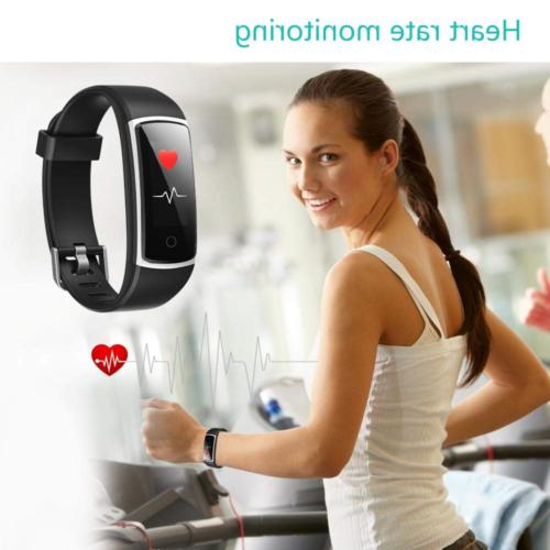 YAMAY Fitness Blood Monitor Heart Rate Watch,IP68
