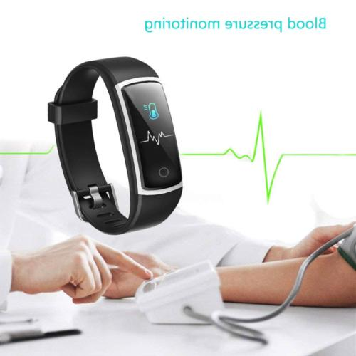 YAMAY with Blood Pressure Monitor Rate Monitor Watch,IP68