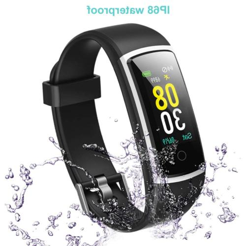 YAMAY Tracker Blood Pressure Rate Watch,IP68