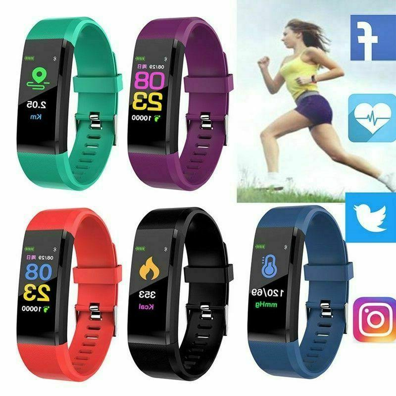 Fitness Tracker Heart Rate Monitor Fitness Watch Activity Tracker IP67Water