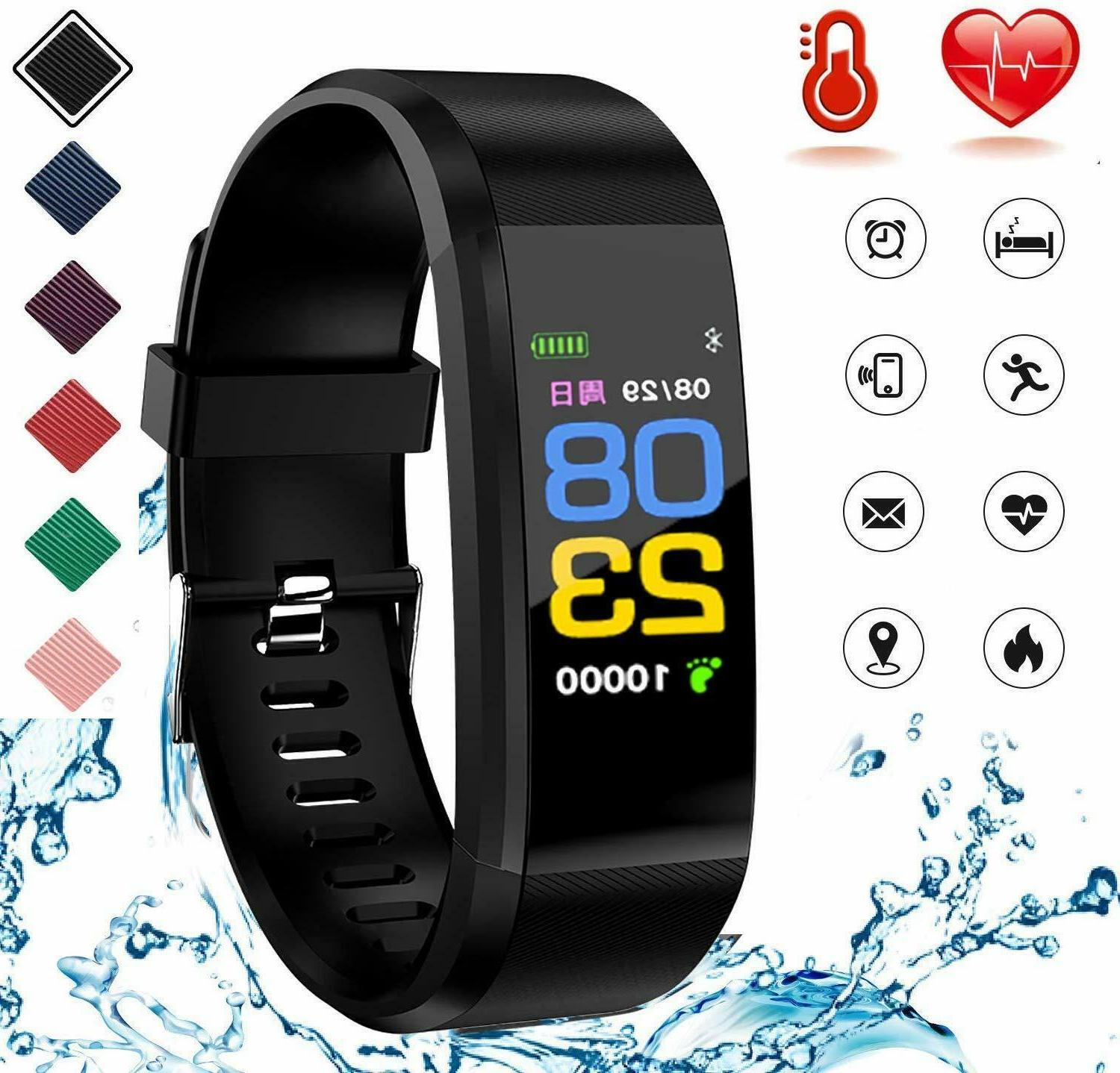 fitness tracker with heart rate monitor fitness