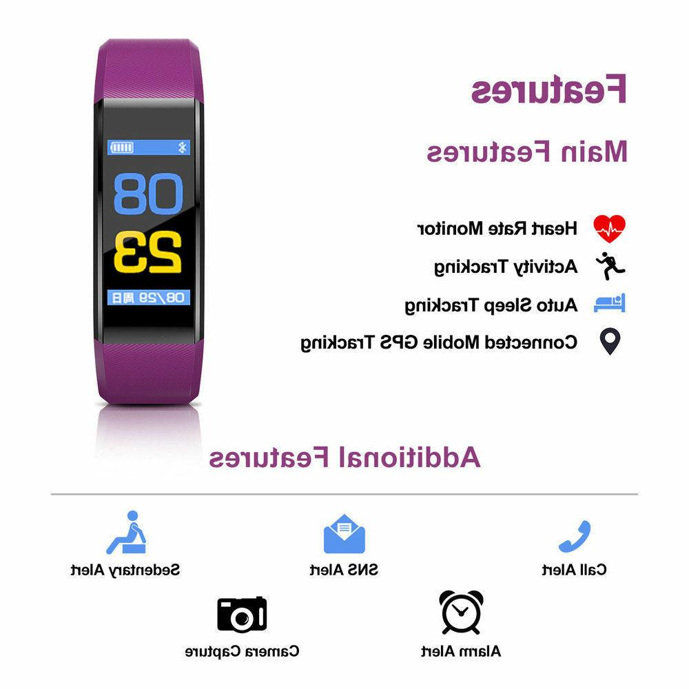 Fitness Tracker with Rate Monitor Fitness Activity
