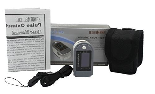 Santamedical SM-165 Fingertip Pulse Oximeter Blood Saturation Monitor and