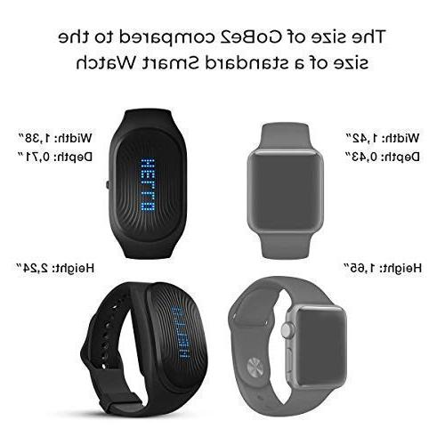 Healbe Wearable & Nutrition Men Smart Heart Rate Monitor - Calorie Counter Bluetooth
