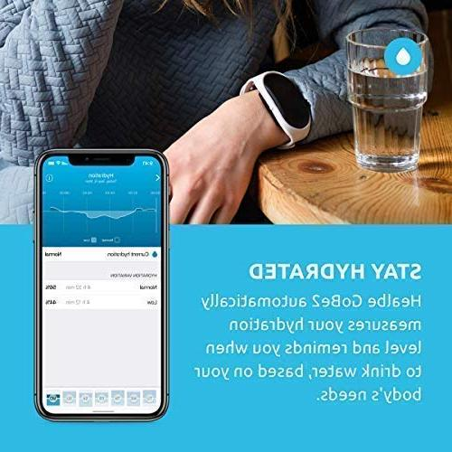 Healbe GoBe2 & for Men Women - Smart - - Calorie Counter Bluetooth Enabled