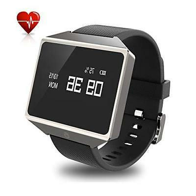 graphene smart watch with heart rate monitor
