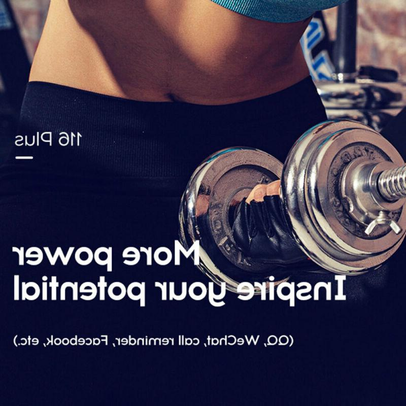 Bluetooth Watch Rate Oxygen Fitness