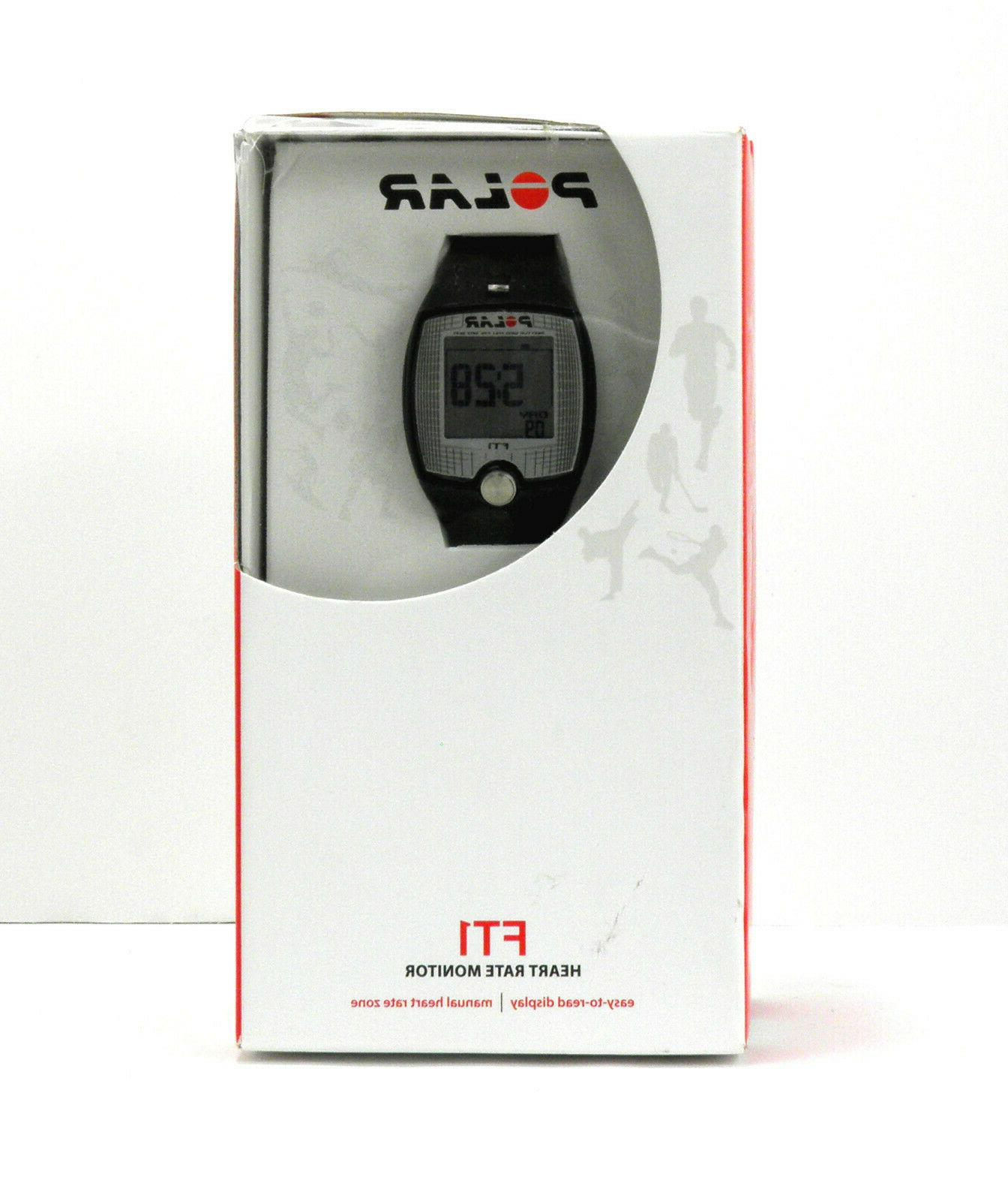 heart rate monitor ft1 open box free