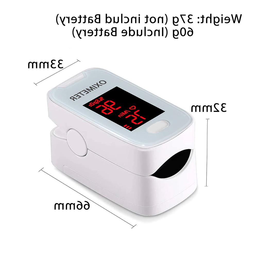 Heart Rate Monitor Pulse Oximeter Health Care Blood Oxygen S