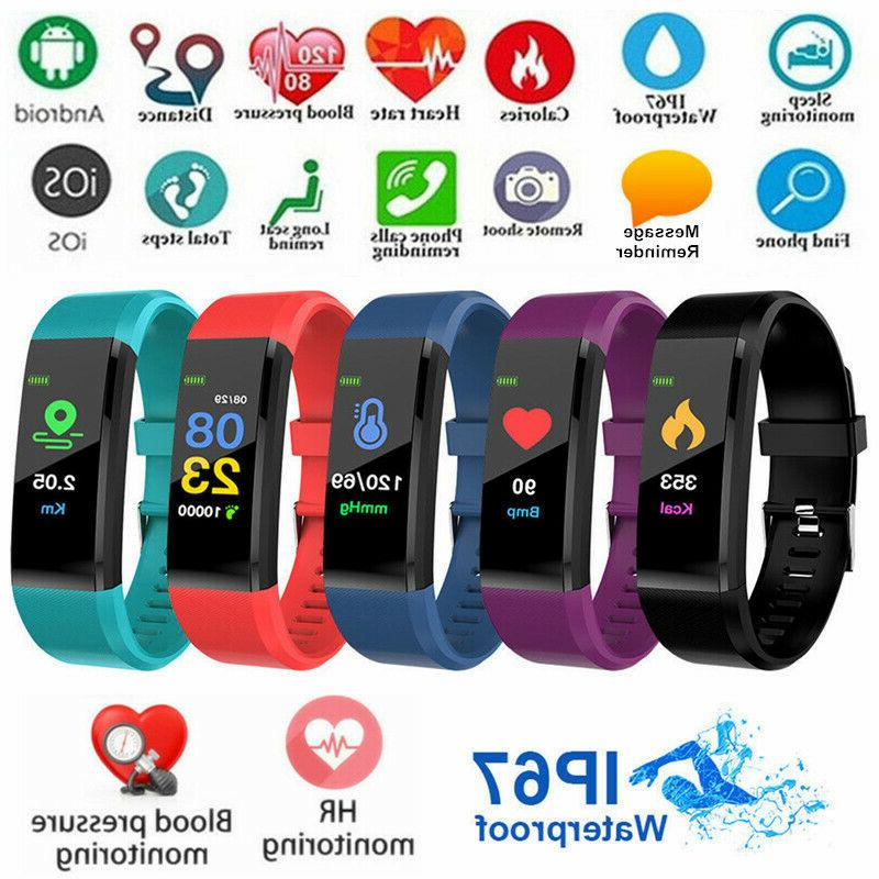 id115plus upgrated smart watch heart rate monitor