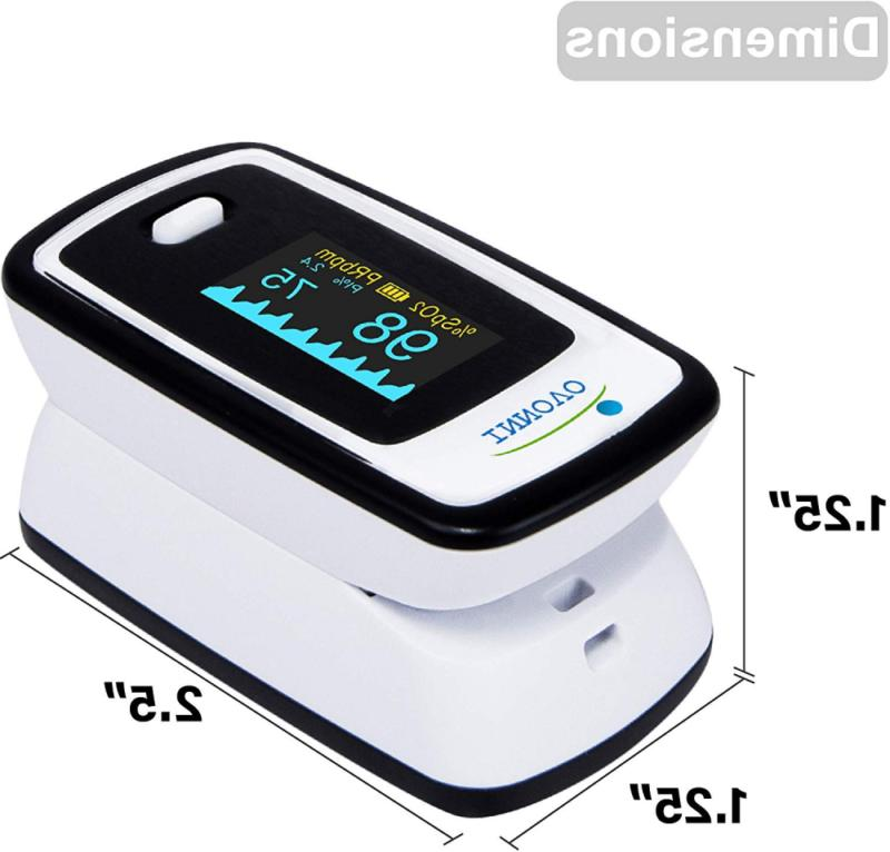Innovo Deluxe Oximeter with Plethysmograph Perfusion Index