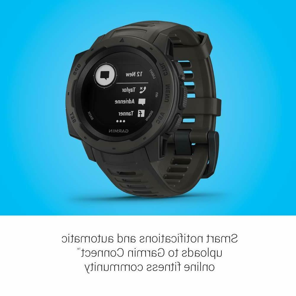 Garmin GPS Watch with Rate - Open-Box