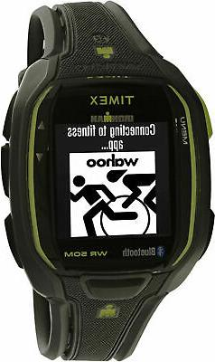 Timex Ironman Run x50+ Smart Activity Monitor Charcoal/Lime