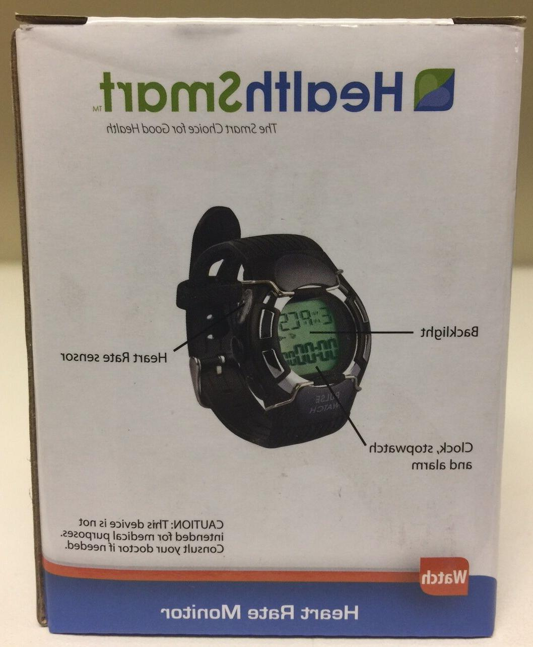 NEW: HealthSmart Rate Monitor Watch Calorie Counter: $9.95