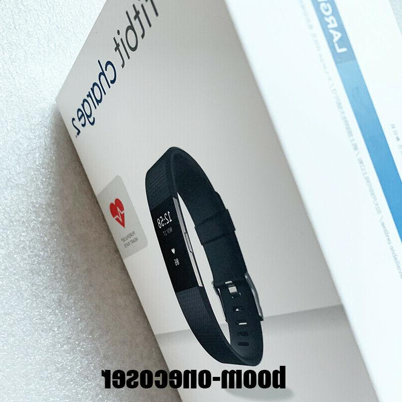 Fitbit Charge 2 Heart Rate Monitor Fitness Tracker Wristband