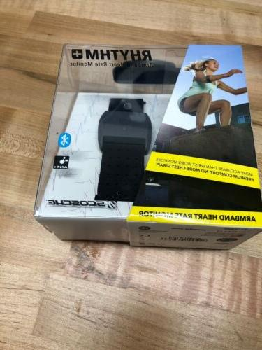 rhythm plus armband heart rate monitor w
