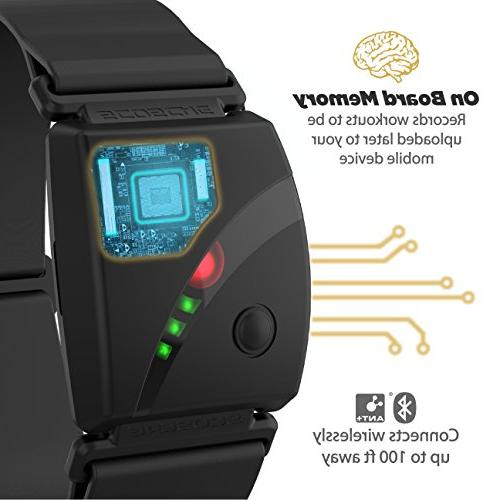 Scosche Rhythm24 Waterproof Armband Heart Rate