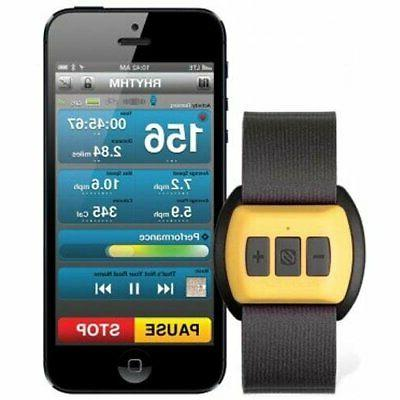 rythym armband heart rate monitor