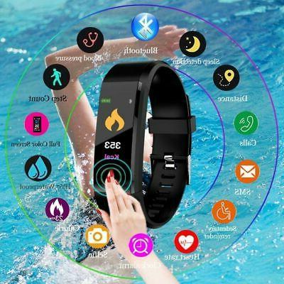 Men Women Smart Sports Tracker- Watch Bracelet Heart Rate Mo