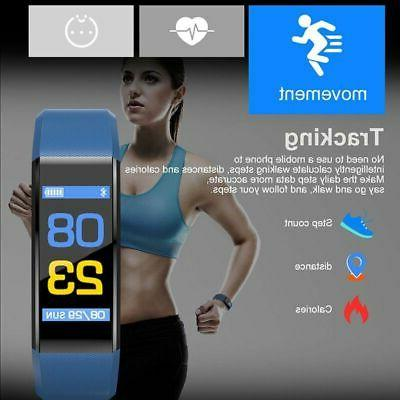 Smart Rate Monitor Fitness-Tracker Smart