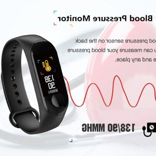 Smart Wristband Heart Pressure Tracker