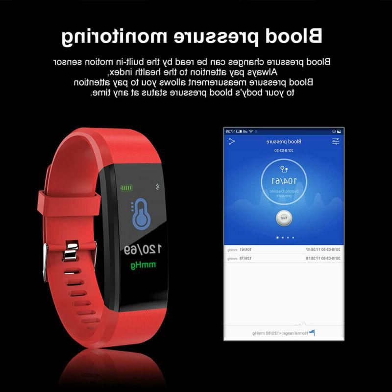 Smart Monitor/Fitness Tracker/Blood