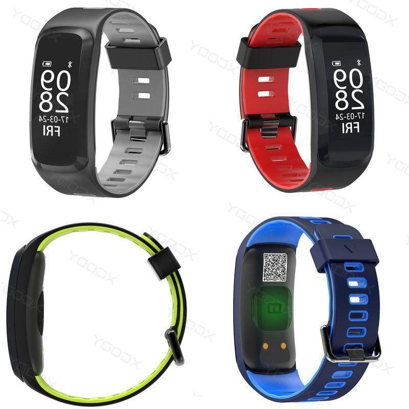 Smart Wristband Heart Tracker Waterproof