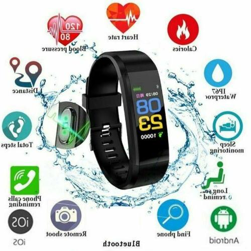 Smart Bracelet/Wristband Watch/Heart Rate Monitor/Blood