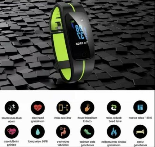 Smart Watch Band Rate Monitor sleep tracker connect