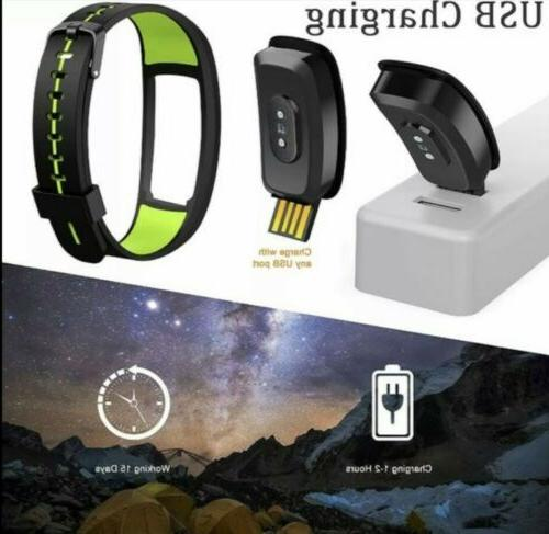 Smart Heart Rate Monitor Tracker Fitness sleep tracker