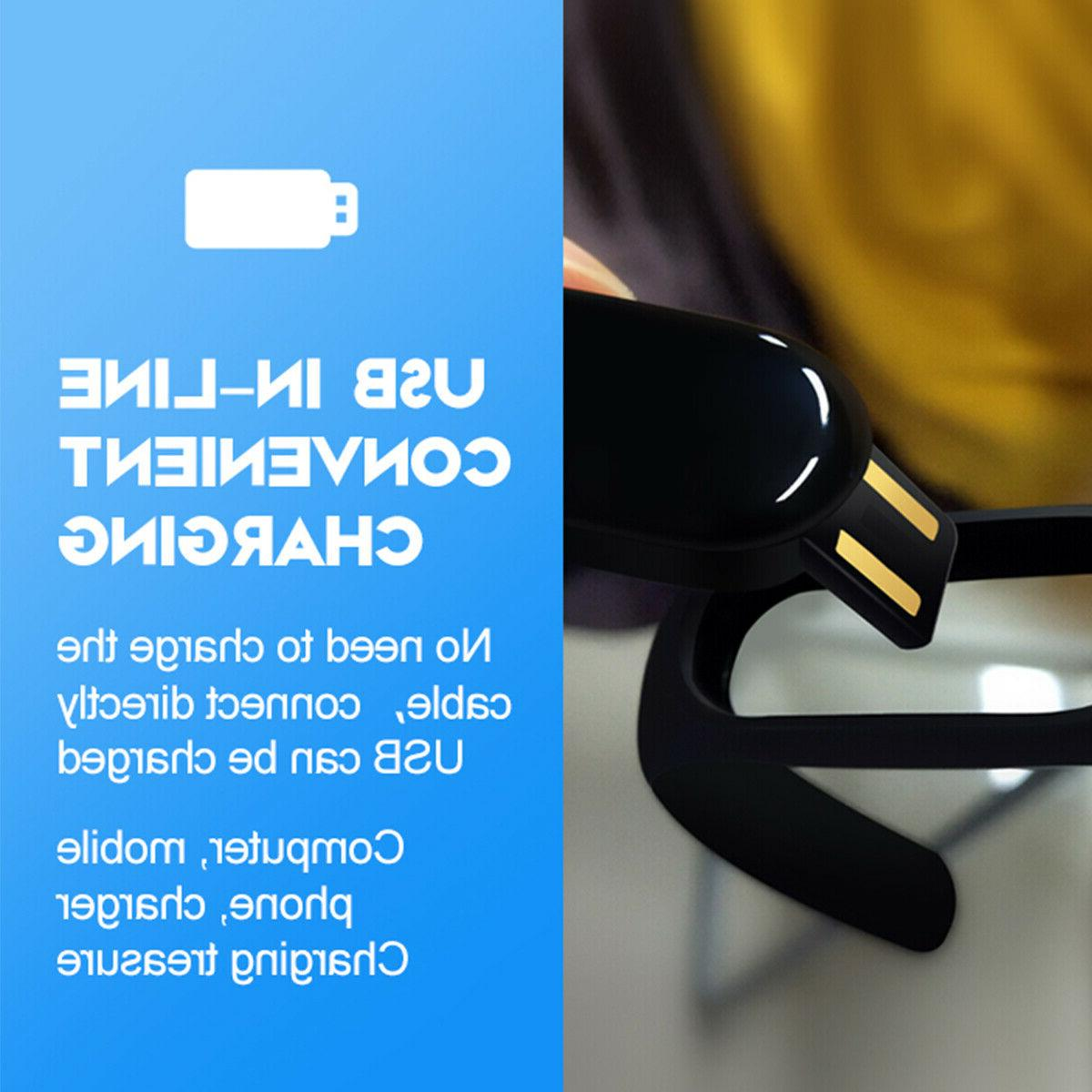 US Smart Watch Pressure Bracelet Wristband iOS Android