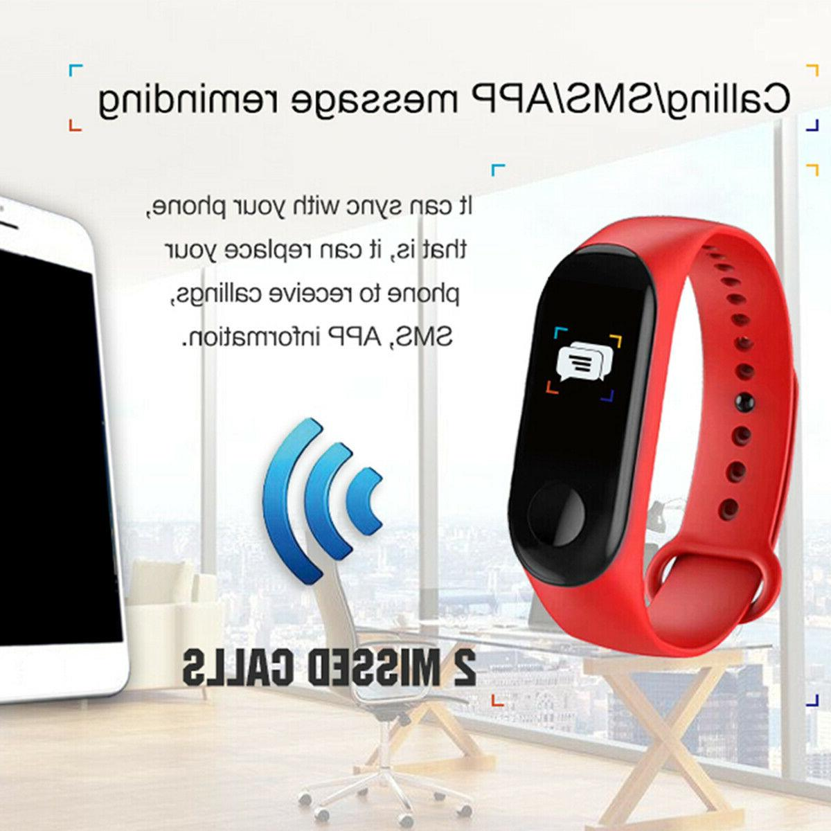 US Smart Watch Blood Pressure Bracelet Wristband iOS
