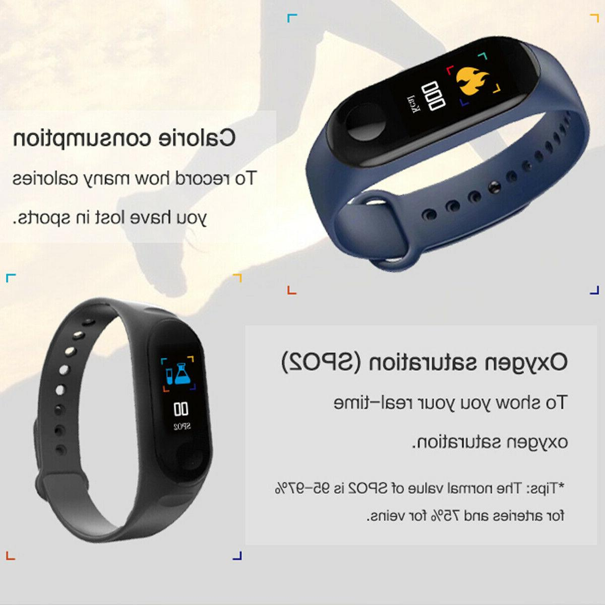 US Smart Pressure Heart Monitor Bracelet