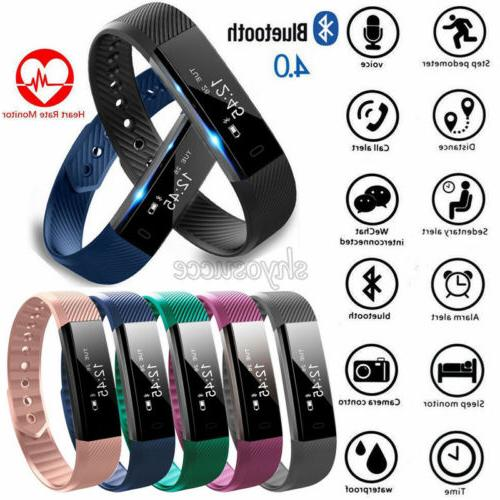 Smart Bracelet Tracker ID115 HR/Plus