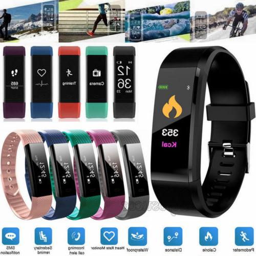 smart watch bluetooth wristband bracelet pedometer fitness