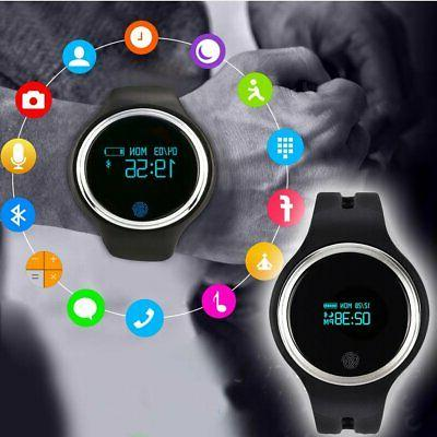 Smart Heart Rate Monitor Fitness Tracker Step GPS BP
