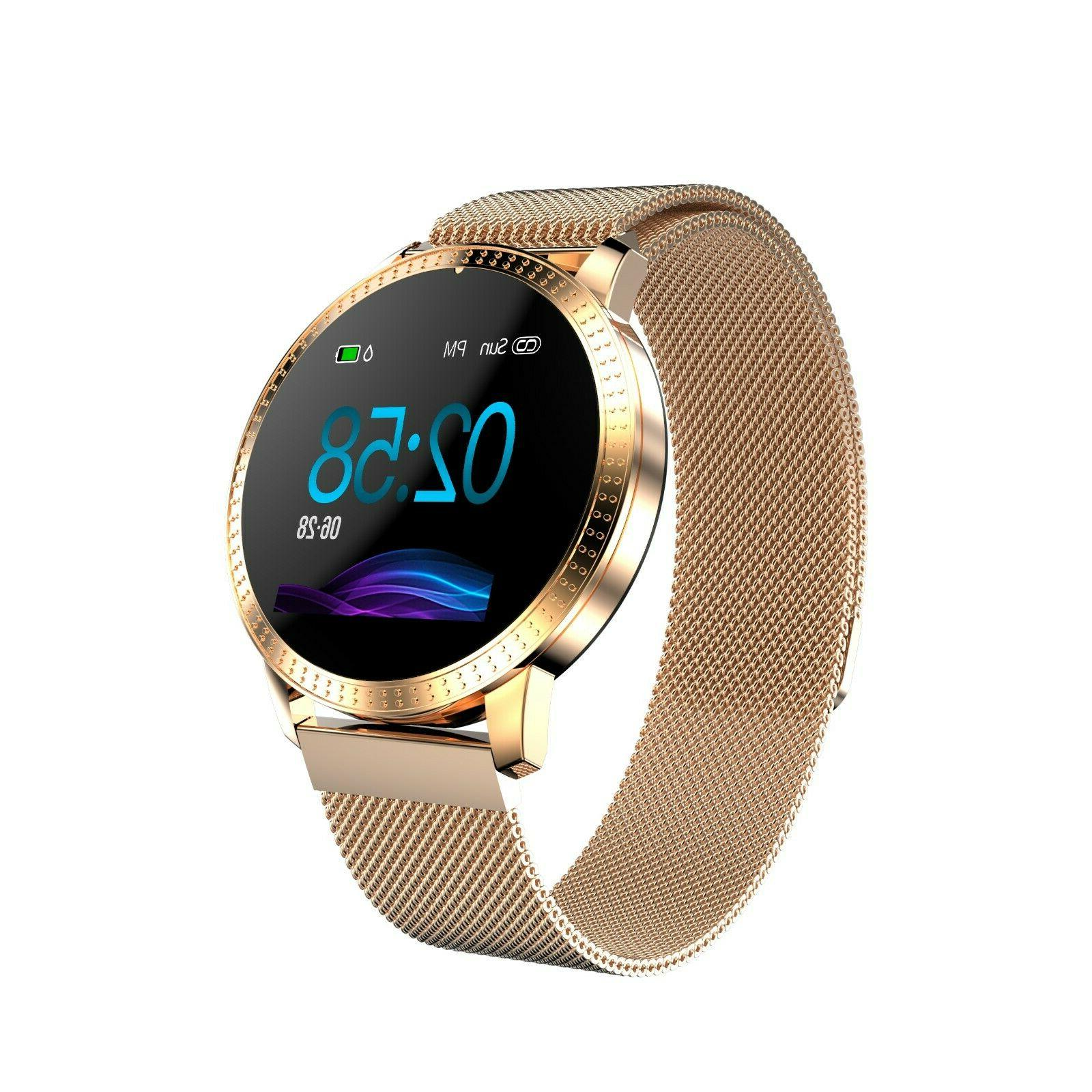 Smart Watch Heart Rate Blood Pressure Activity Tracker Counter