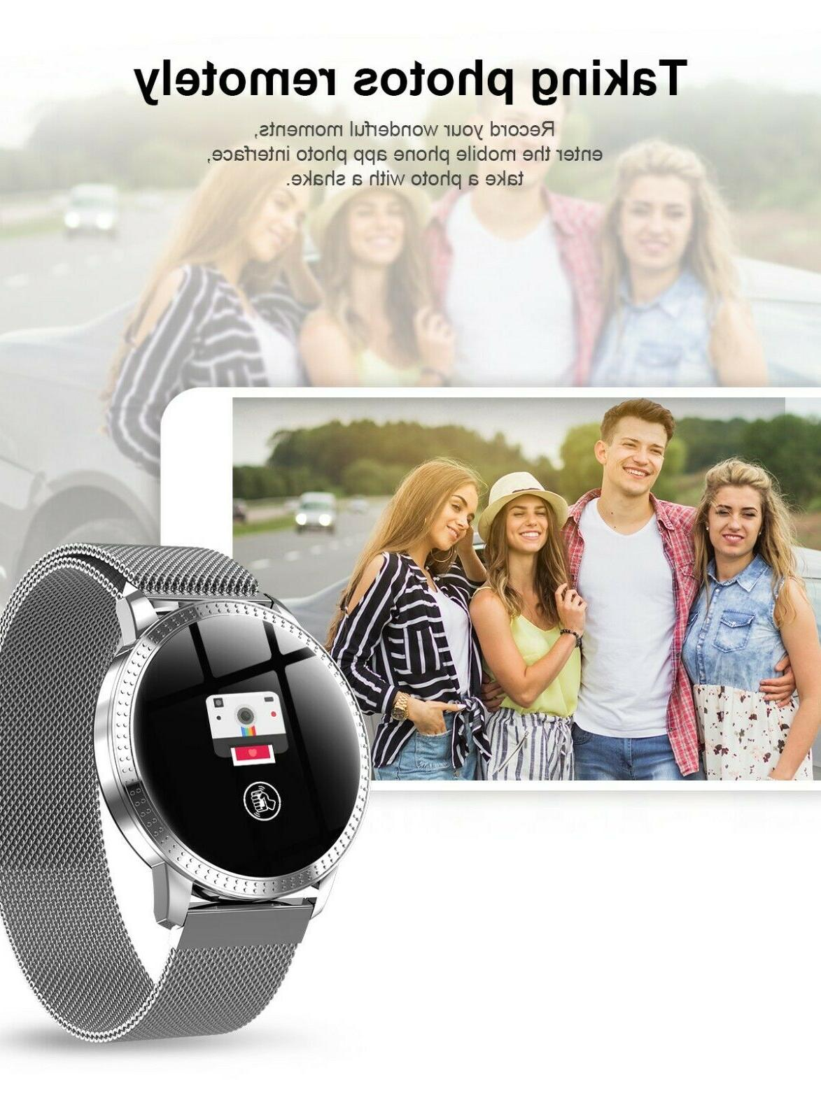 Smart Watch Rate Blood Pressure Fitness Tracker Calorie